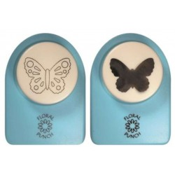 Nellies Choice Floral Punch - medium set butterfly 1