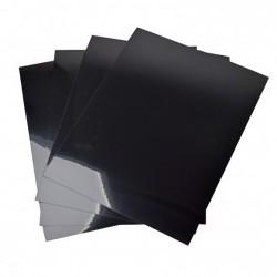 Shrink plastic nero A4 x4 fogli