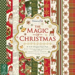 """Dovecraft The Magic of Christmas 8""""x8"""" Paper Pack"""