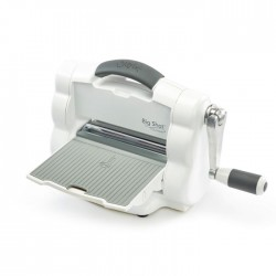 Sizzix Big Shot Foldaway Machine (White and Grey) with Free Bonus Content