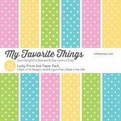 """My Favorite Things Lucky Prints 6""""x6"""" Paper Pack"""