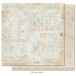 "Carta 12""x12"" Vintage Spring Basics - 6th of March"