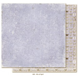 "Carta 12""x12"" Vintage Spring Basics - 9th of April"