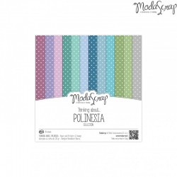 Paper pack Thinking about... Polinesia 15x15cm