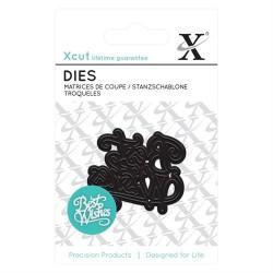 XCUT Mini Die - Best Wishes