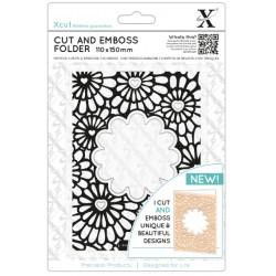 XCUT Cut & Emboss Folder -  Hearts & Flowers