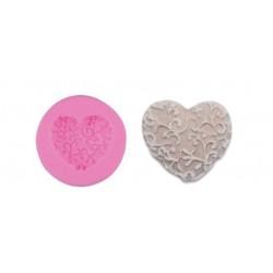 Stampo di silicone cuore con rami