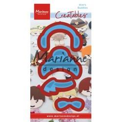 Marianne Design Creatables Kim's buddies winter set