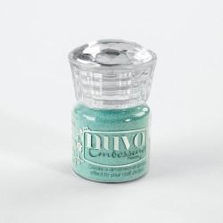 Nuvo embossing powder - Polvere da embossing cool jade