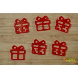 Prisma - Pacchetti regalo Rosso