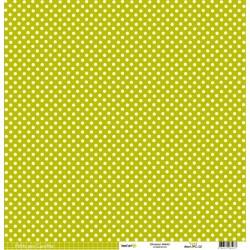 Kesi'Art paper pois/quadretti 30,5cm x 31,5cm - Verde gr226