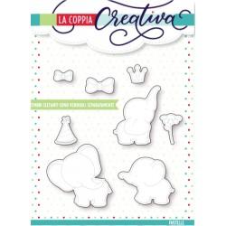 Fustelle la coppia creativa Elefanti