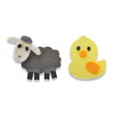 Sizzix Bigz Die Sweet Spring Animals 662633