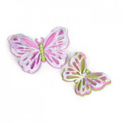 Sizzix Thinlits Die Set 6PK - Delicate Butterflies