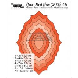 Crealies Crea-nest-dies XXL no.26
