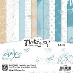 Paper Pack Modascrap Enjoy the journey 15x15cm