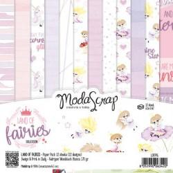 Paper Pack Modascrap Land of fairies 15x15cm