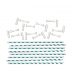 We R Memory Keepers pinwheel attachments aqua