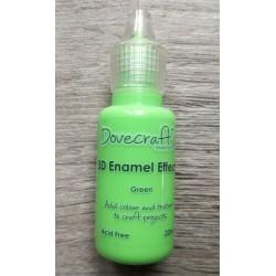 Dovecraft 3D enamel effects Green