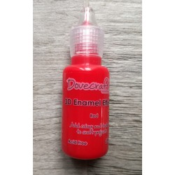 Dovecraft 3D enamel effects Red