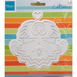 Marianne Design Craftables angel with heart