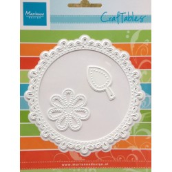 Marianne Design Craftables circle & flower stitch
