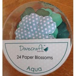 Dovecraft Paper blossom aqua