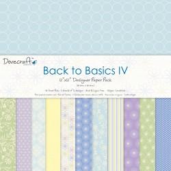 """Dovecraft back to basics IV 12""""x12"""""""