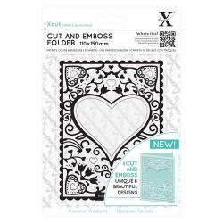 Cut & Emboss Folder - Heart Frame