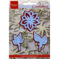 Marianne Design Creatables flower and leaves