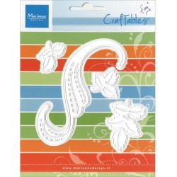 Marianne Design Craftables swirls & leaves 3