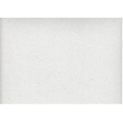 Foglio Gomma Crepla Glitter Bianco 20x30
