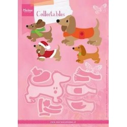 Marianne Design Collectables Eline's Dachshund