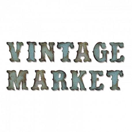 Sizzix Bigz XL Alphabet Die - Vintage Market