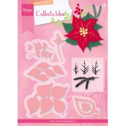 Marianne Design Collectables Eline's poinsettia
