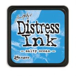 Tim Holtz distress mini ink salty ocean