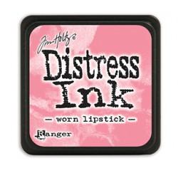 Tim Holtz distress mini ink worn lipstick
