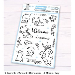 Timbri Impronte D'Autore Baby Polar Friends