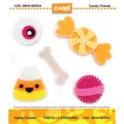 Fustella Cut-Mi Impronte D'autore Candy Friends