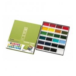 Set 24 Colori Gansai Tambi Sets Kuretake
