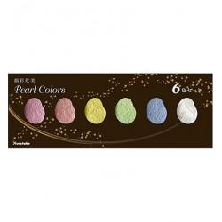 Set 6 Colori Gansai Tambi Pearl Colors Kuretake
