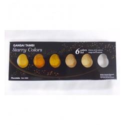 Set 6 Colori Gansai Tambi Starry Colors Kuretake