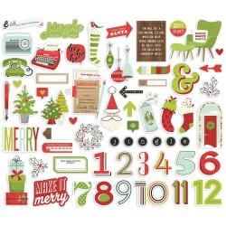 Simple Stories - Make it merry - Die cut