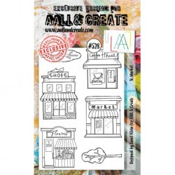 Timbri AALL and Create Stamp Set -528