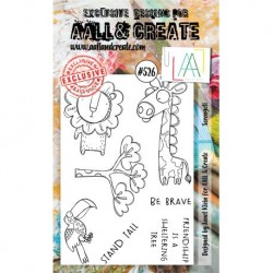 Timbri AALL and Create Stamp Set -526