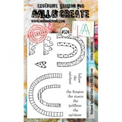 Timbri AALL and Create Stamp Set -524