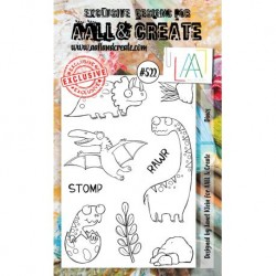Timbri AALL and Create Stamp Set -522