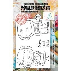 Timbri AALL and Create Stamp Set -512