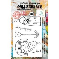 Timbri AALL and Create Stamp Set -493