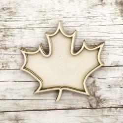 Foglia d'autunno shaker in legno - Krea